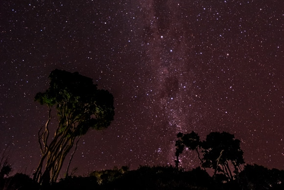 Milky Way, Clarke's Beach, Byron Bay, Australia