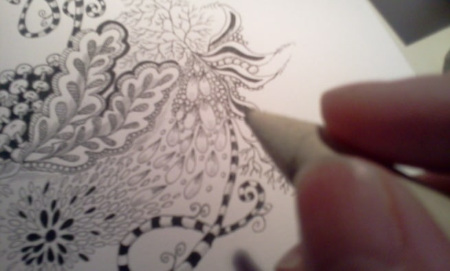 What is creativity - zentangle