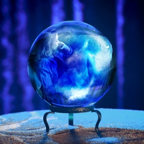 Scrying crystal ball