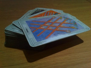 psychic powers tarot cards