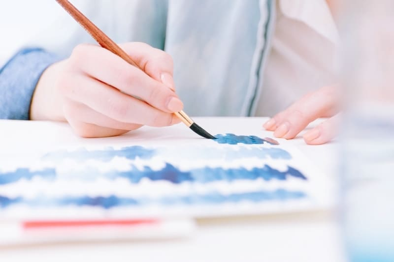 Connecting to your Creativity painting