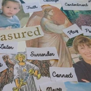 angelic vision board featured