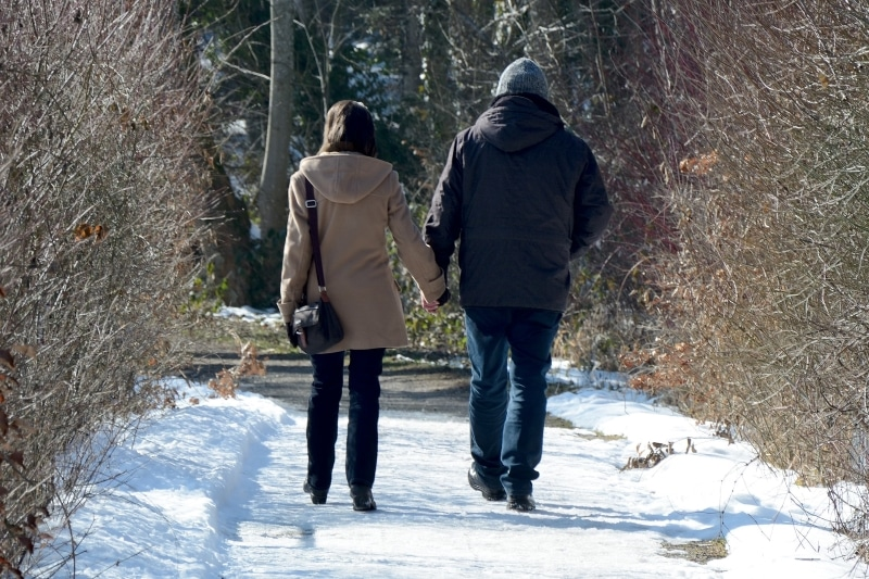 coping with holiday grief go for a walk