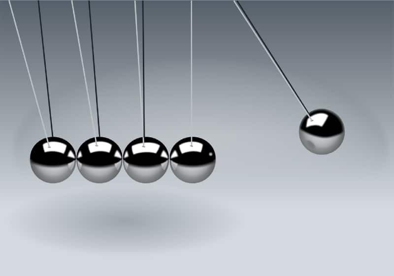 Six More Universal Laws to Help Create Your Ideal Life Newtons Cradle