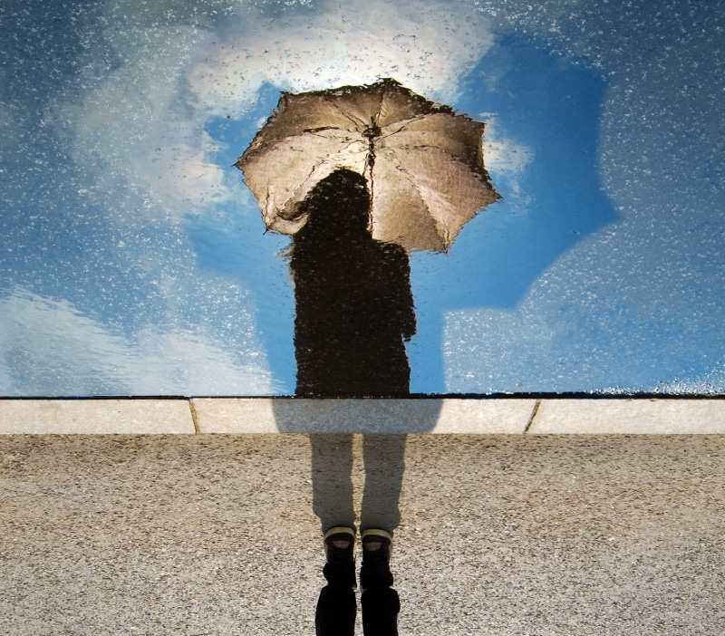 Psychic Gifts Control the Weather with Your Mind umbrella