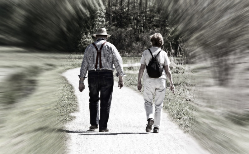 past life regression walking