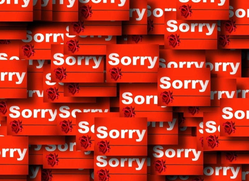 Stop Apologizing Sorry
