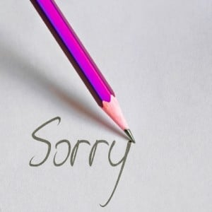 Stop Apologizing and Saying Sorry